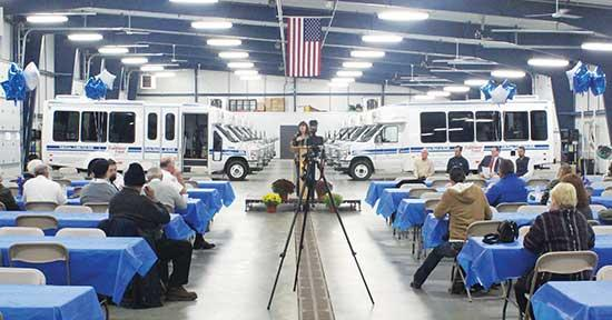Buffalo stays busy, despite weather, with Trailblazer Transit,  Buffalo Police and Fire Department Open Houses