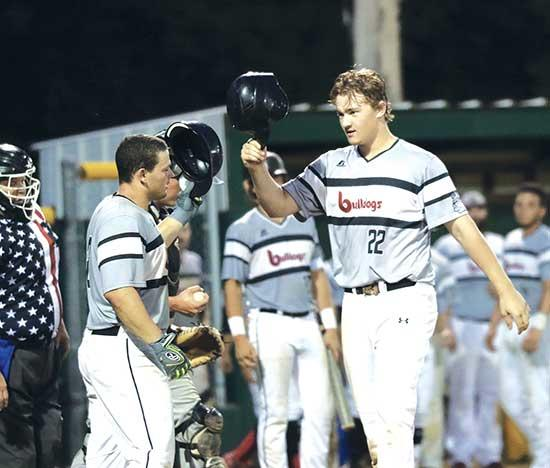 With most Fourth of July weekend celebrations canceled due to the coronavirus, members of the Buffalo Bulldogs amateur baseball team still provided fans with plenty of fireworks.Buffalo smacked out 14 hits, including home runs by Jake Duske and Kai...