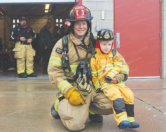 The Buffalo Fire Department Open House was held at the Centennial Firehouse on Saturday, Oct. 12, from 9 a.m. to noon, where volunteers served hot pancakes and were on site to provide information on what it means to be a fireman, fire safety, child...