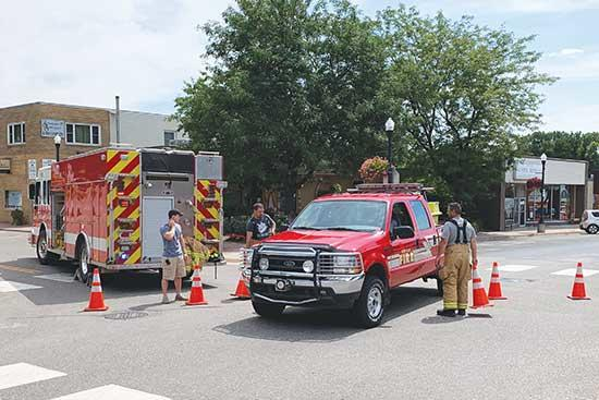 On Friday, August 9, Buffalo Fire Department evacuated around 10 buildings in downtown Buffalo following a reported gas line break.Construction of the Havenwood complex on First Street South was halted when a gas line broke in the afternoon. BFD...