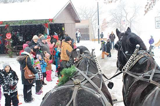 "On Saturday, December 7, the Buffalo Chamber of Commerce will be hosting the annual ""Deck the Halls."" Christmas in Sturges Park begins at 3 p.m. and includes Santa's arrival by firetruck, holiday characters to meet and greet, horse-drawn wagon rides..."