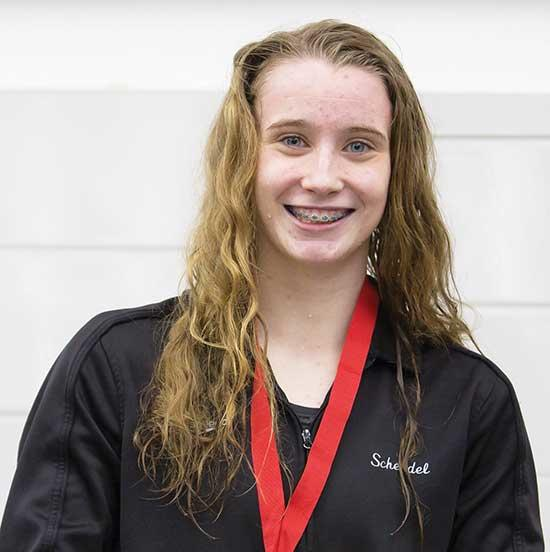 Six members of the Buffalo High School girls swimming and diving team along with an alternate, are on their way to the state tournament in two relays and two individual events after strong performances at the Section 8AA tournament last Friday and...
