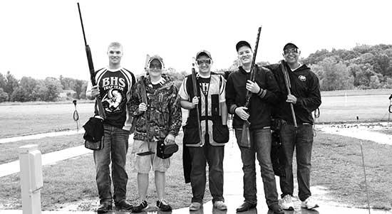 The 2014 Buffalo High School Trapshooting Team won the inaugural MSHSL Clay Target State Tournament on June 14, 2014 at Minneapolis Gun Club in Prior Lake. The five shooters representing Buffalo's 22-member squad that season were (left-right): Dylan...